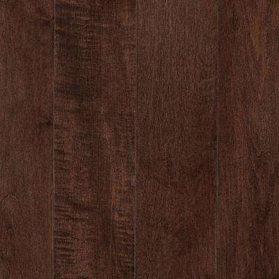 Take Home Sample - Portland Coffee Maple Solid Hardwood Flooring - 5 in. x 7 in.