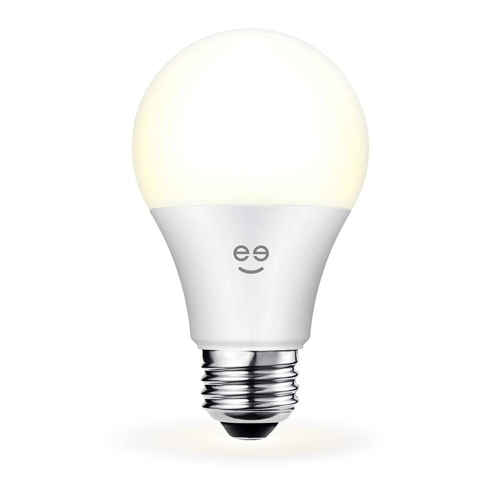 LUX 800 60W Equivalent White Dimmable A19 Smart LED Bulb