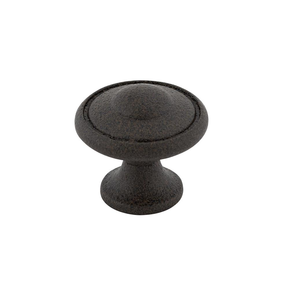 Richelieu Hardware 1-3/16 in. Antique Rust Cabinet Knob