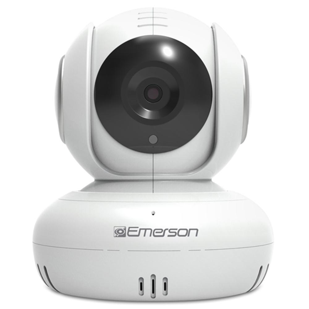 Emerson HD 1080p Wi-Fi Baby Monitor/Pet Camera White