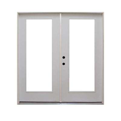 Retrofit Prehung Primed Steel Patio Door  sc 1 st  Home Depot & Galvanized Steel - Patio Doors - Exterior Doors - The Home Depot