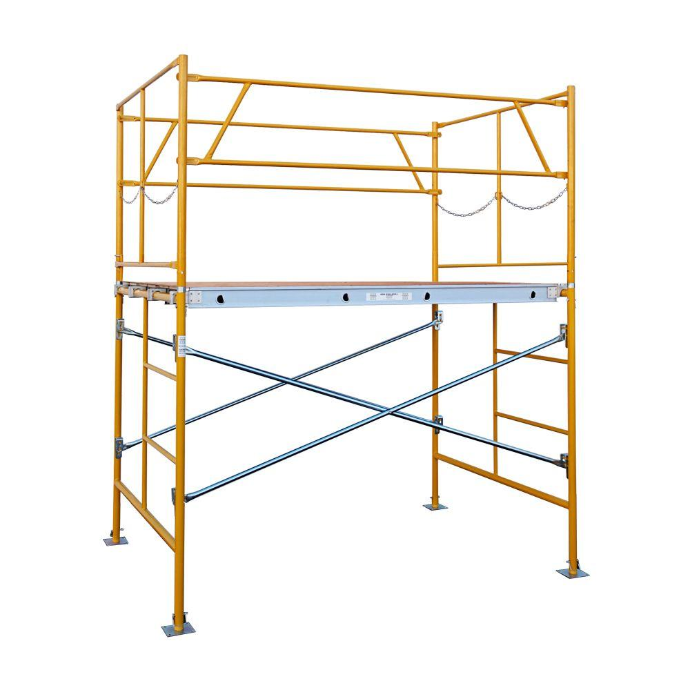 Fortress 5 ft. x 7 ft. x 5 ft. Stationary Scaffold Tower 2475 lb. Load Capacity