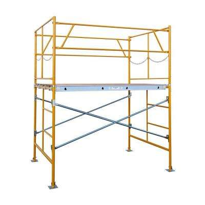 5 ft. x 7 ft. x 5 ft. Stationary Scaffold Tower 2475 lb. Load Capacity