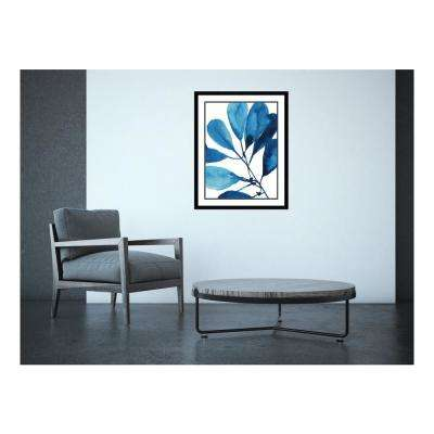 23.38 in. W x 29.38 in. H Sapphire Stems II by Asia Jensen Printed Framed Wall Art