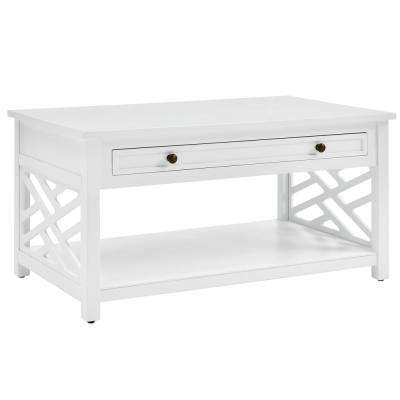 """Coventry 36""""W Wood Coffee Table with 1-Drawer"""