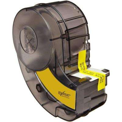 IDXPERT 1 in. x 2.5 in. Vinyl Wire/Cable-Marking Self-Laminating Label