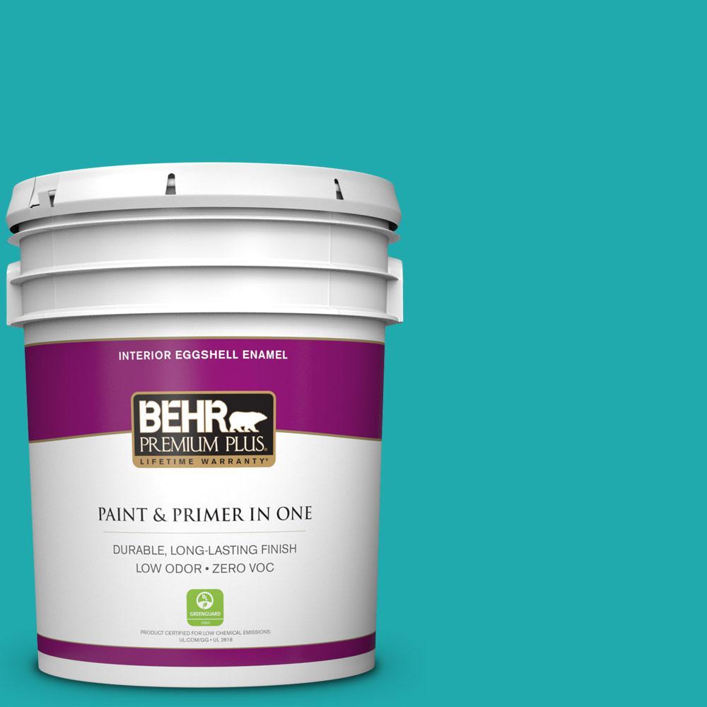 BEHR Premium Plus 5-gal. #P460-5 Fiji Eggshell Enamel Interior Paint