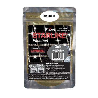 Starlike Finishes Gold Shimmer (Glitter) Additive
