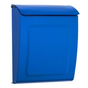 Architectural Mailboxes Aspen Locking Wall Mount Mailbox Blue by Architectural Mailboxes