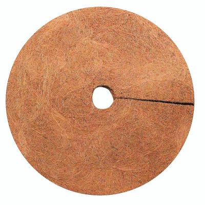 0.3 in. x 24 in. Coconut Fibers Mulch Tree Ring Protector Mat (20-Pack)