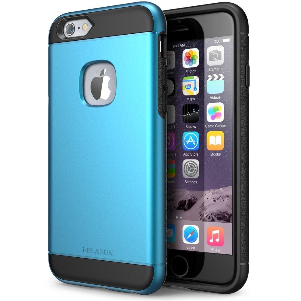 i blason unity series case for apple iphone 6 6s blue iphone6 4 7 unity blue the home depot. Black Bedroom Furniture Sets. Home Design Ideas