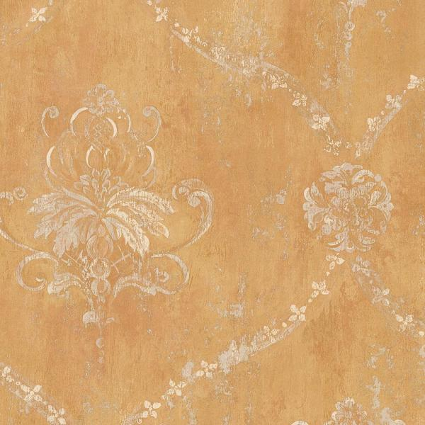 Norwall Regal Damask Wallpaper CH22566