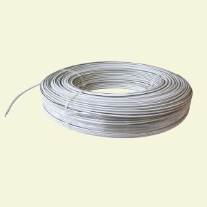 White Lightning 1320 ft. 12.5-Gauge White Safety Coated High Tensile Electric... by White Lightning