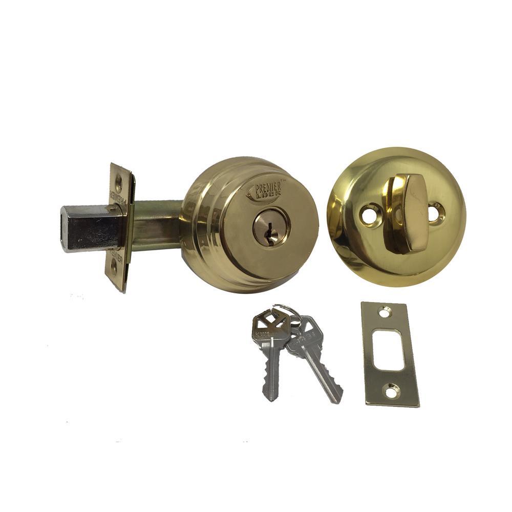 2 Keyed Alike Keys Entrance Lock with