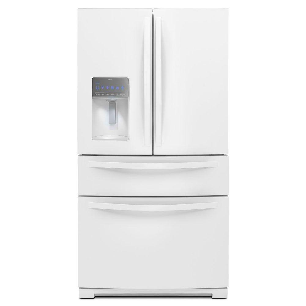Whirlpool 26.2 cu. ft. French Door Refrigerator in White
