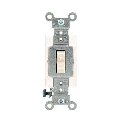 20 Amp Preferred Toggle Switch, Light Almond
