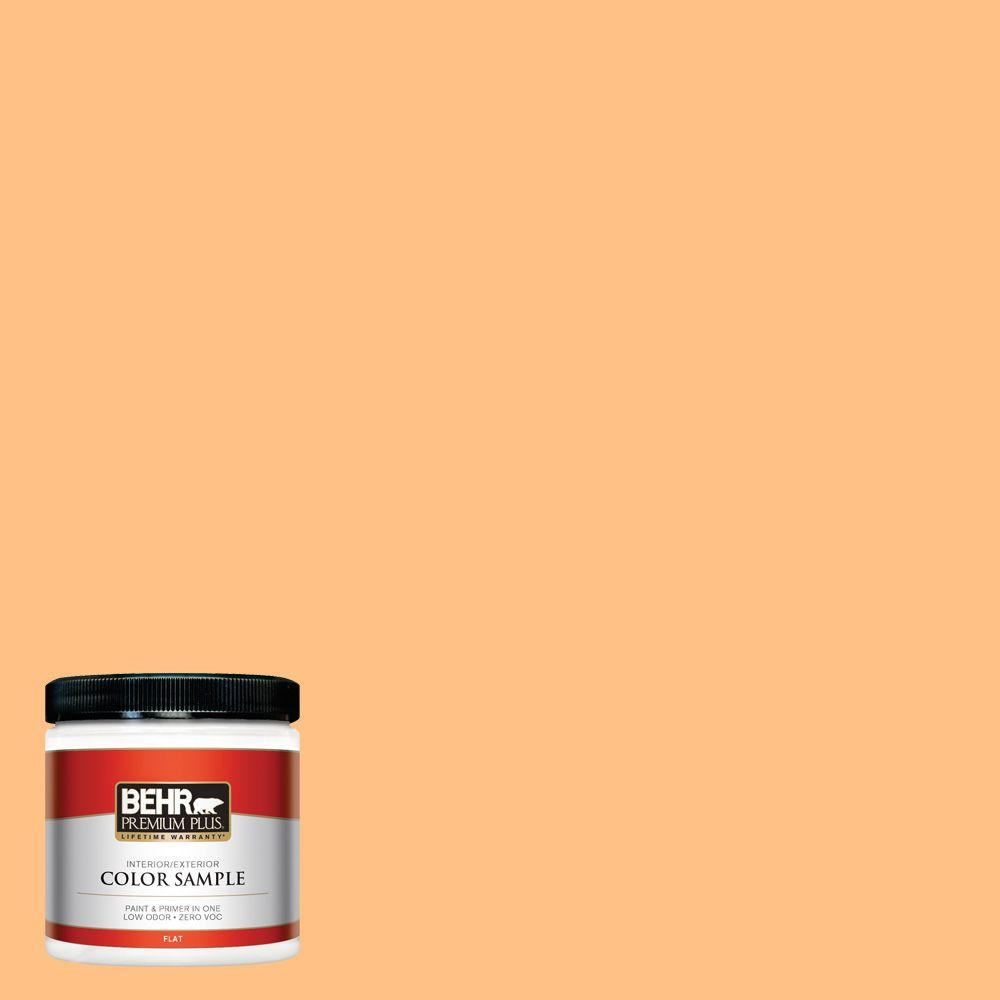 8 oz. #PMD-68 Amber Sun Interior/Exterior Paint Sample