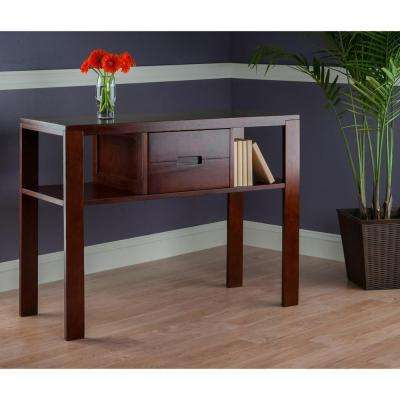 Bora Walnut Console Table