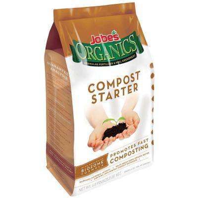 4 lb. Organic Compost Starter with Biozome, OMRI Listed