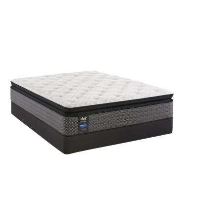Response Performance 13.5 in. Queen Plush Euro Pillowtop Mattress with 9 in. High Profile Foundation Set