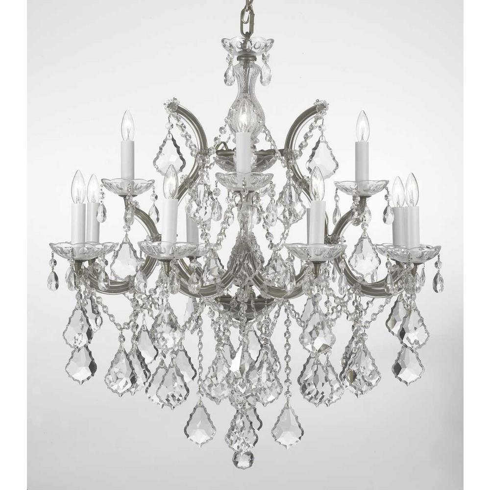 small a crystals chandelier nickel clear shown size note costco swarovski in coast medium by crystal gold the with lighting finish and for wire of chandeliers