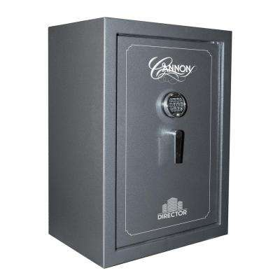 Director Series 5.5 cu. ft. Electronic Lock Security Drop Safe in Gray with 75 Min. Fire Rating