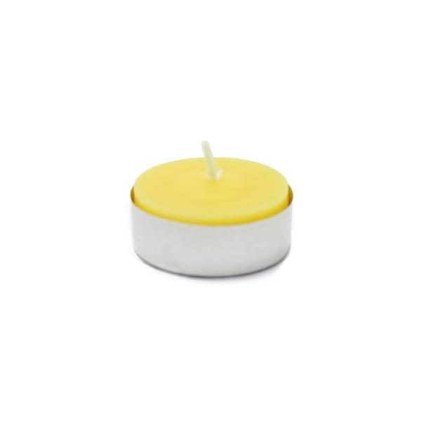 1.5 in. Yellow Citronella Tealight Candles (100-Box)