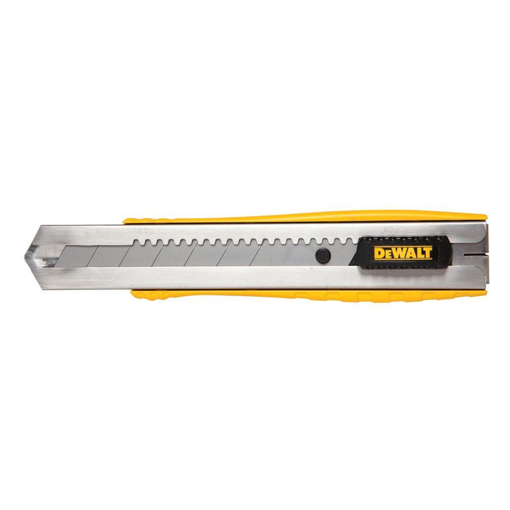 DEWALT 25 mm Metal Body Snap-Off Knife