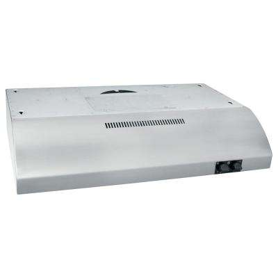 30 in. Under the Cabinet Range Hood in Stainless Steel