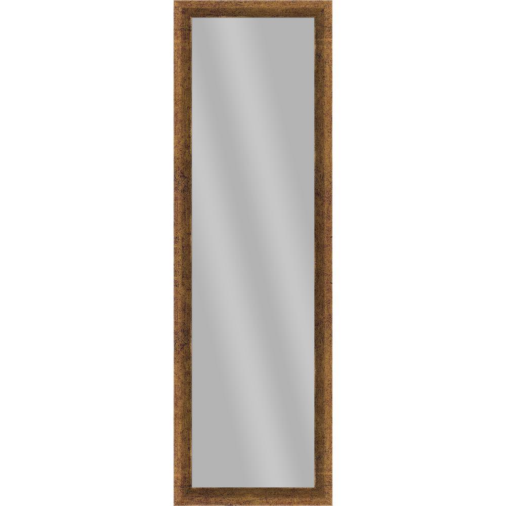 51.875 in. x 15.875 in. Gold Framed Mirror