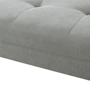 Super Sandy Wilson Home Brio Mineral Grey Tufted Sofa Bed S65070 Gamerscity Chair Design For Home Gamerscityorg