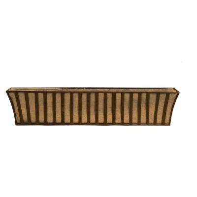 43 in. L x 9 in. D x 9 in. H Large Solera Window Box with Coco Liner