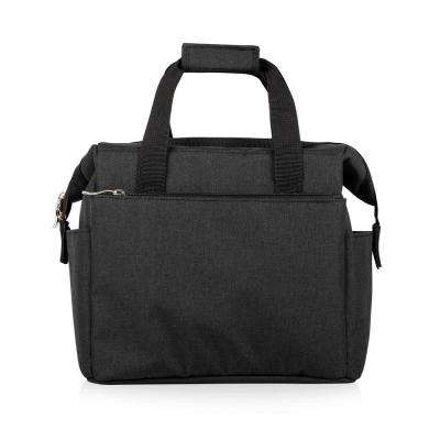 On The Go Black Lunch Bag
