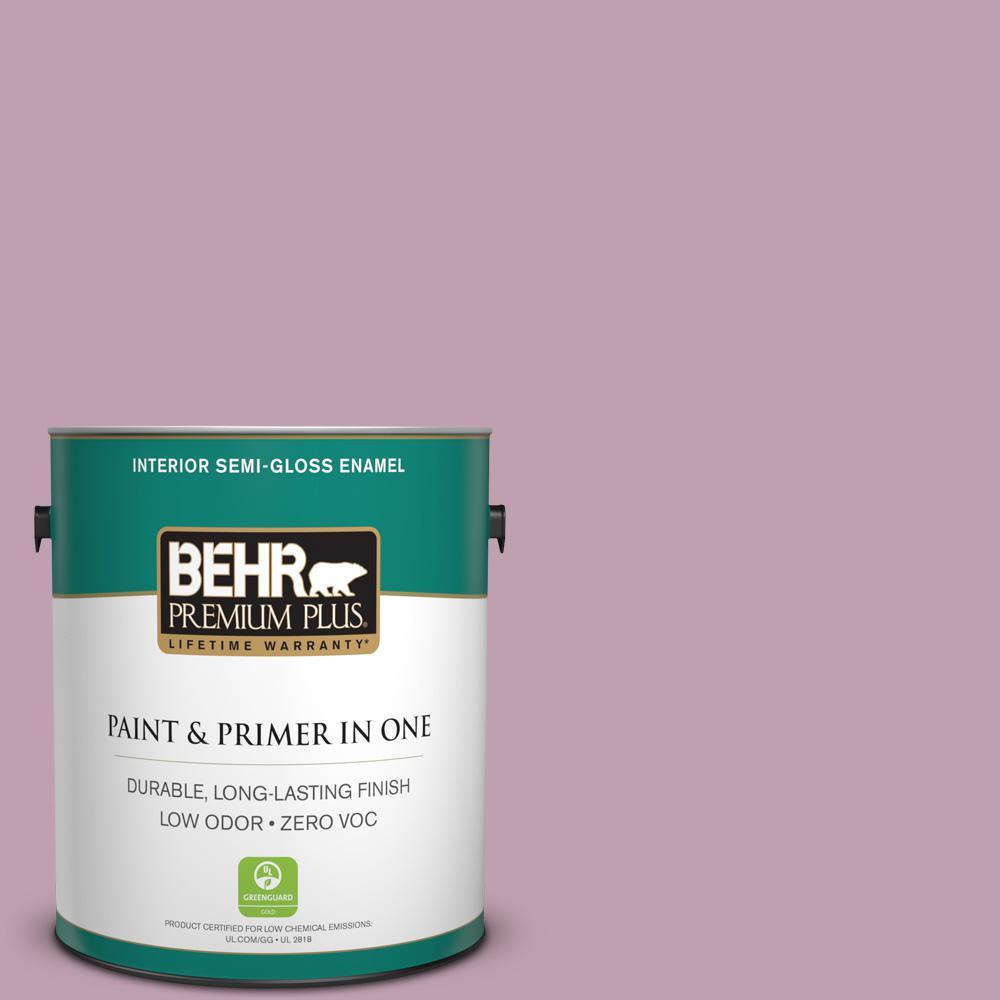 BEHR Premium Plus 1-gal. #S120-4 Decanting Semi-Gloss Enamel Interior Paint