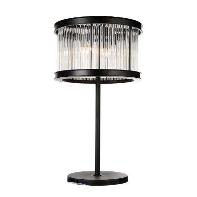 Mira 29 in. Black Table Lamp