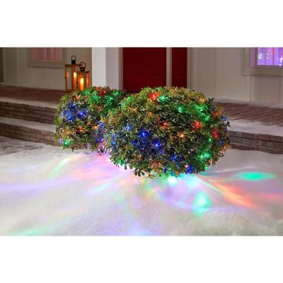 48 in. x 72 in. 150-Light LED Multi-Color Dome Twinkle Net Light