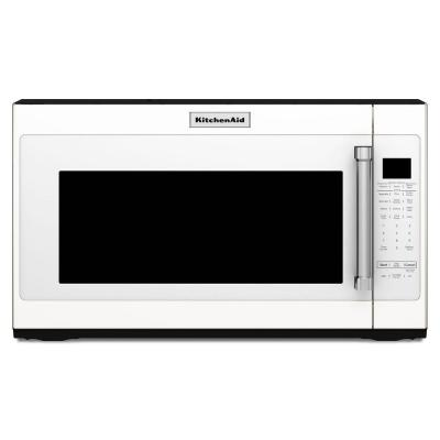 30 in. 2.0 cu. ft. Over the Range Microwave in White with Sensor Cooking