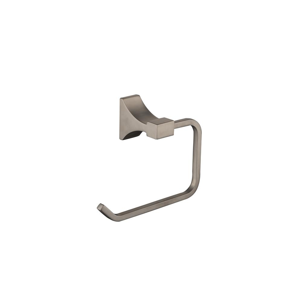 Glacier Bay Leary Towel Ring in Brushed Nickel
