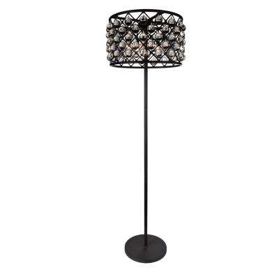 Renous 72 in. Black Floor Lamp