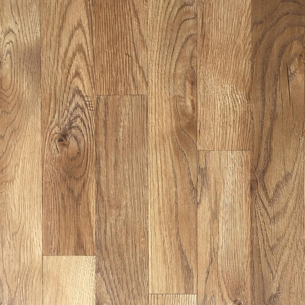 Trafficmaster Ember Oak 7 Mm Thick X To 2 3 In Wide