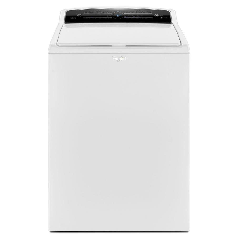 Whirlpool 4.8 cu. ft. High-Efficiency White Top Load Wash...