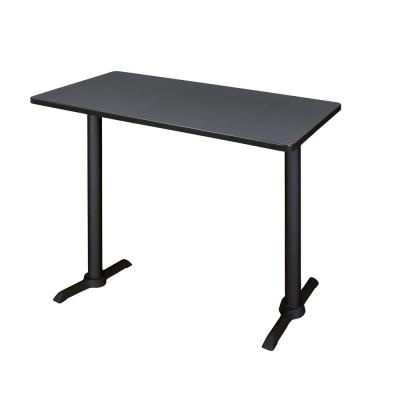 Cain Grey 48 in. W Cafe High Training Table