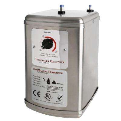 0.625 Gal. 1,300-Watt Point of Use Quick Heating Tank Electric Water Heater in Stainless Steel