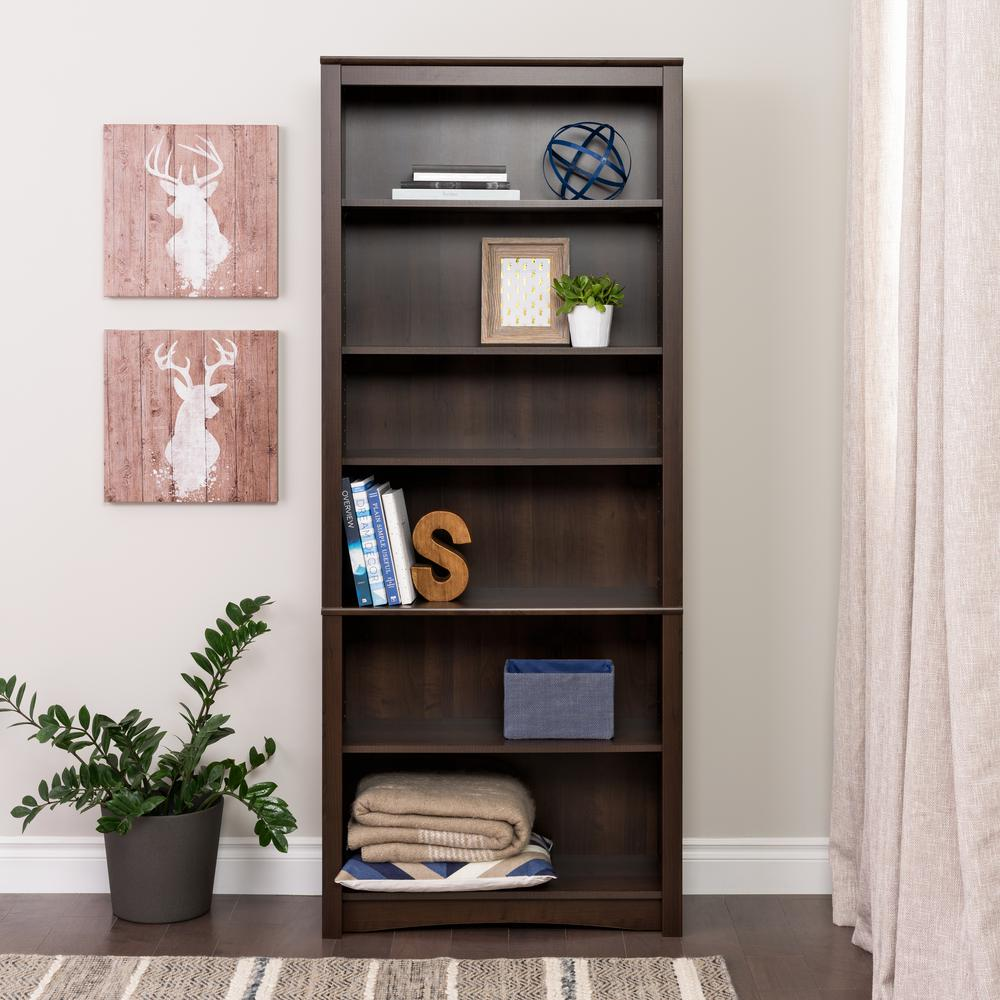 espresso mia bookcase com ip kids walmart shelf ameriwood home