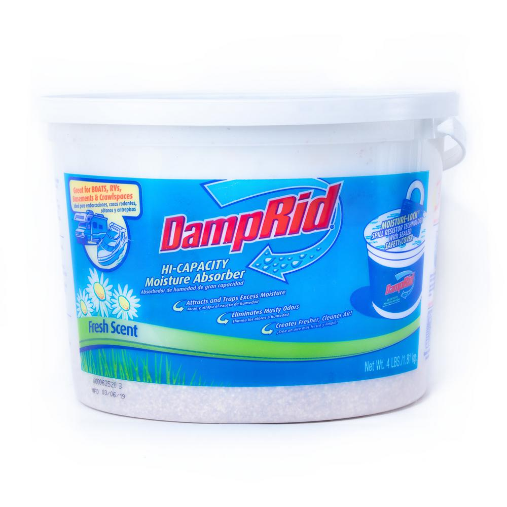 DampRid 4 lbs. Hi-Capacity Moisture Absorber Fresh Scent