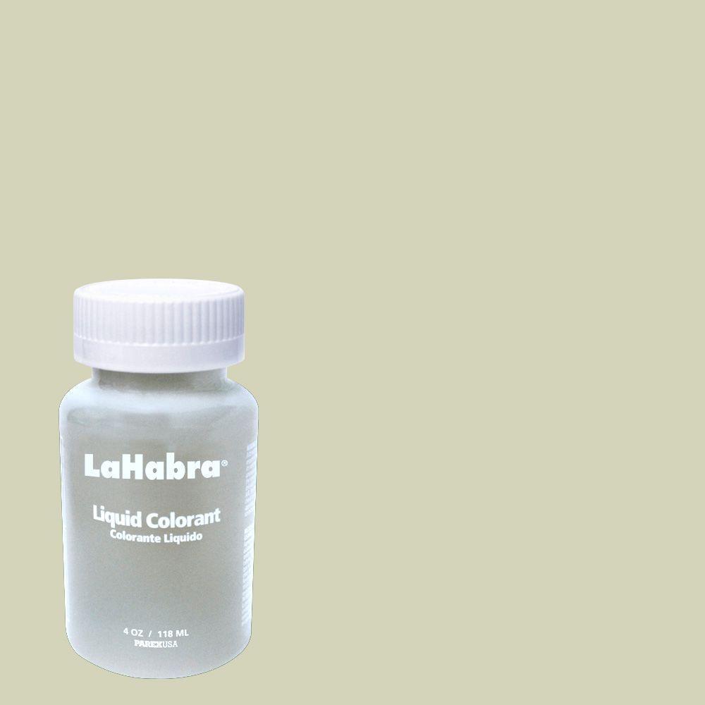 LaHabra 4 oz. Liquid Color #A696 Southern Moss