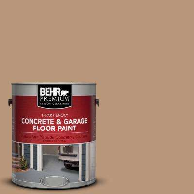 1 gal. #N250-4 Artisan Crafts 1-Part Epoxy Concrete and Garage Floor Paint