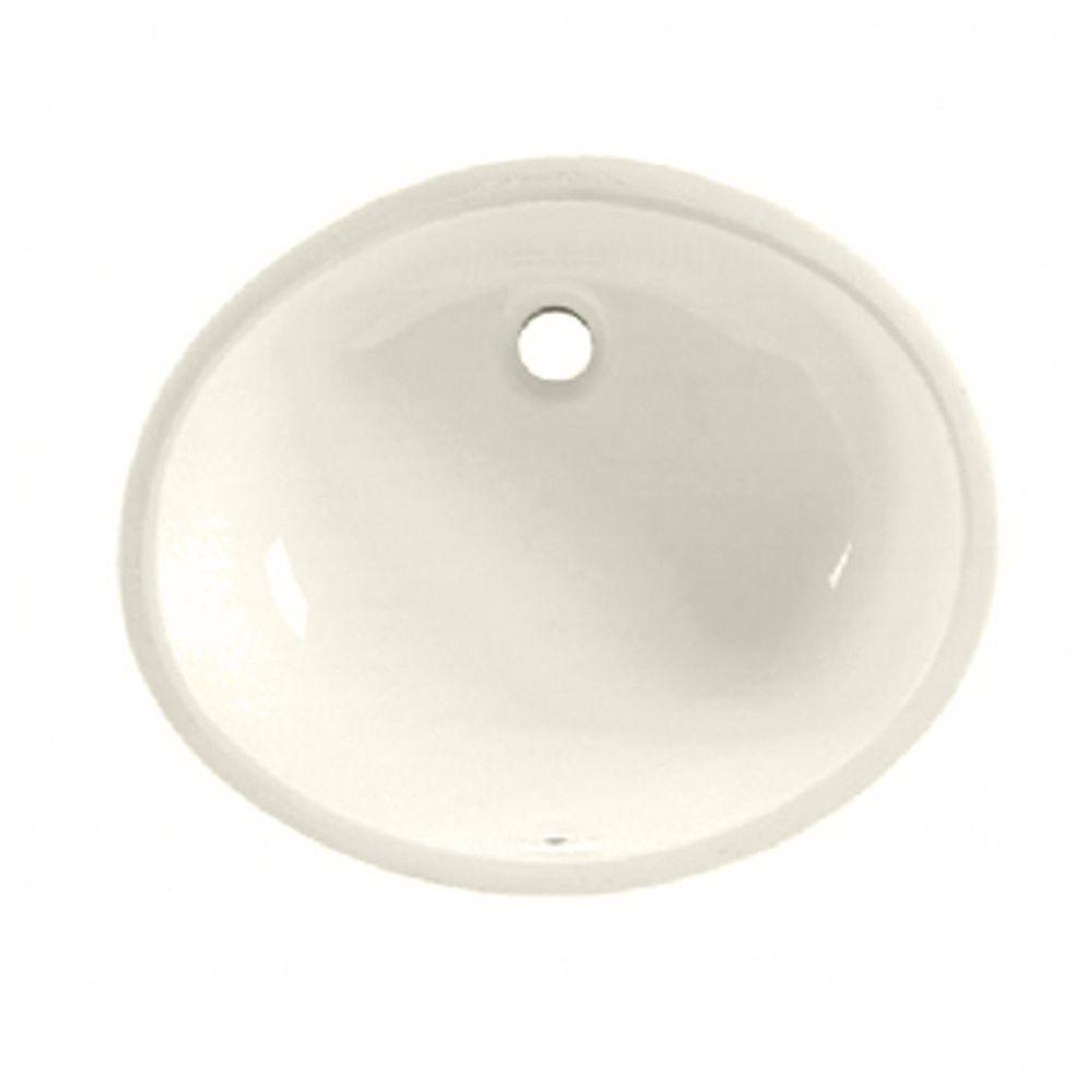 American Standard Ovalyn Undermount Bathroom Sink In Linen