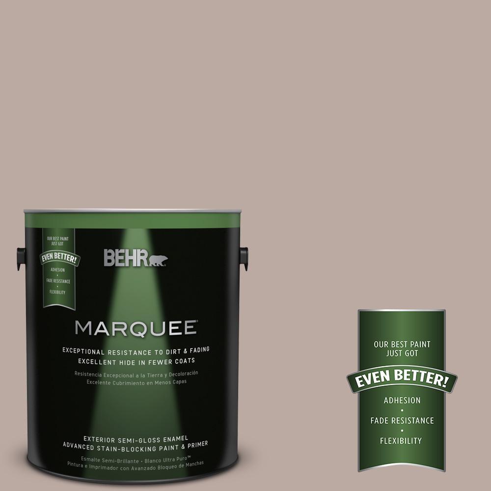 BEHR MARQUEE 1-gal. #770B-4 Classic Semi-Gloss Enamel Exterior Paint
