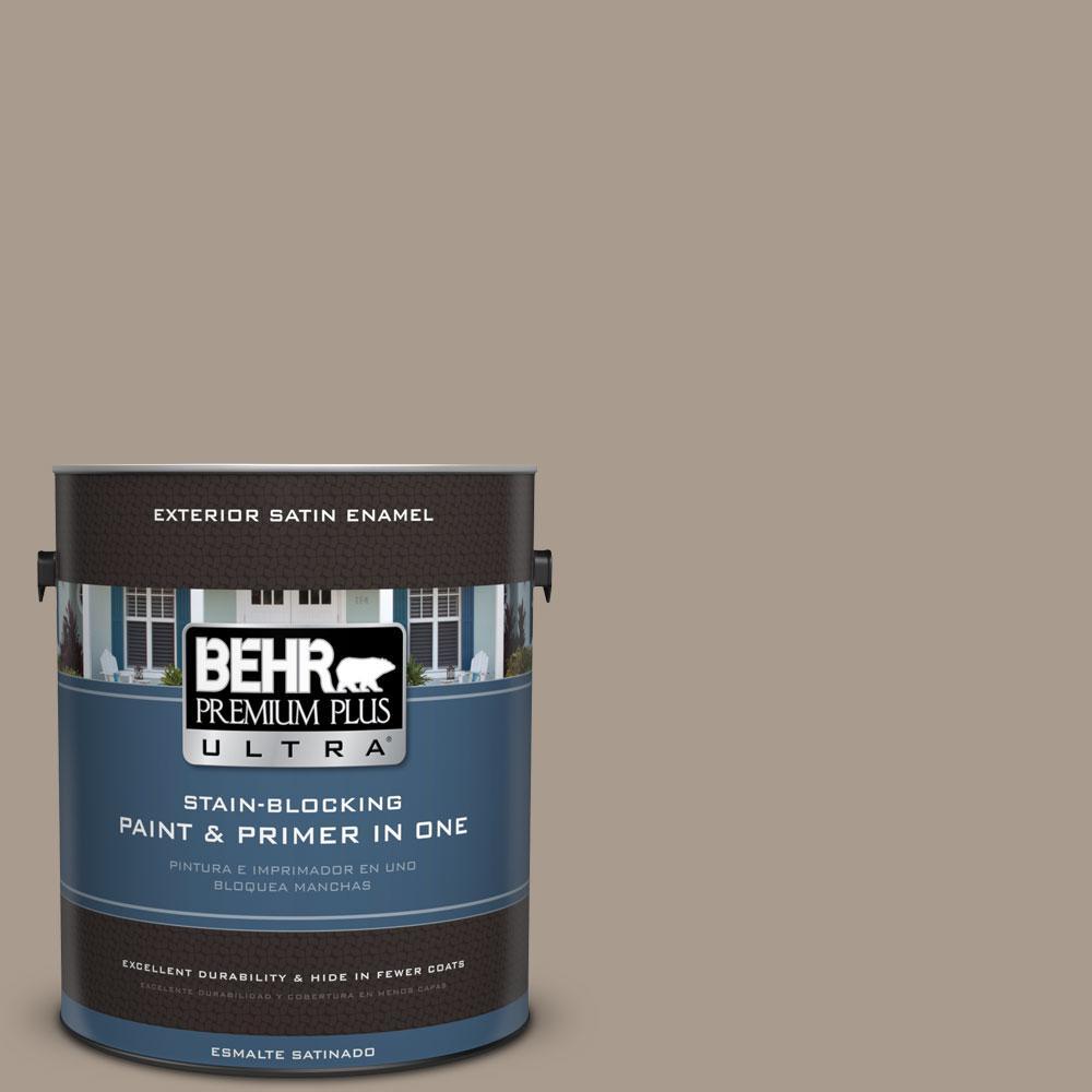 Behr Premium Plus Ultra 1 Gal N210 4 Espresso Martini Satin Enamel Exterior Paint 985401 The